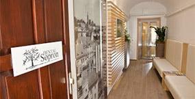 Dental Sopron waiting room