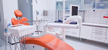 Dental clinic treatment room